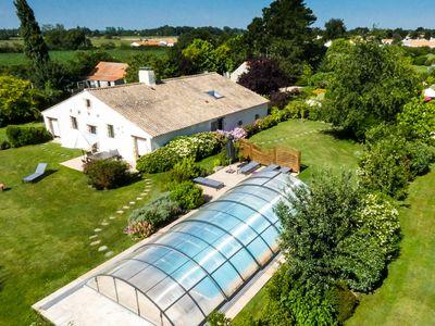 Photo for Luxury Gites with private heated pool in Vendée 15 min. from the seaside