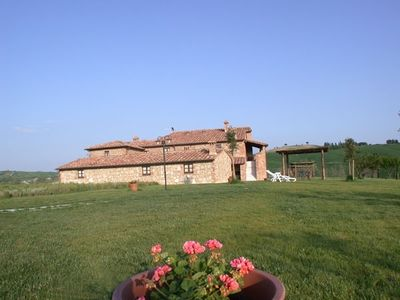Photo for holiday vacation villa casa rental tuscany italy asciano