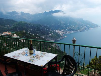 Photo for Ravello - Mesmerizing views over the Amalfi Coast and silvery sea