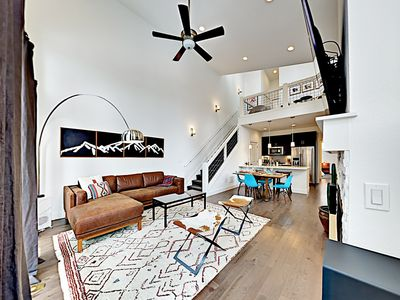 Photo for Brand-New Mountain 2BR Rendezvous Colorado Townhome - Walk to Dining