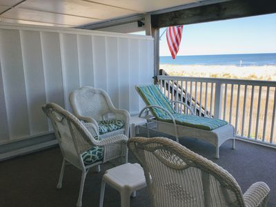 Photo for Oceanfront Condo at 76th Street