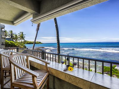 Photo for Watch Dolphins from this Oceanfront 2BR Corner Unit, Banyan Tree 200
