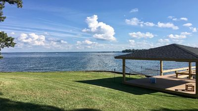 Photo for Just Another Day In Paradise, Lake Murray Waterfront Home With Optional Pontoon