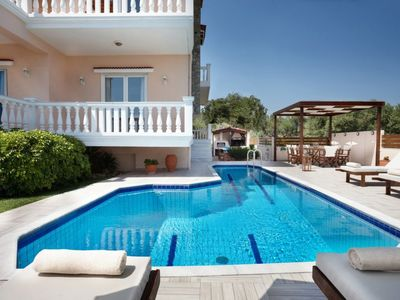 Photo for Vacation home Galatas Luxury Villa in Galatas - 8 persons, 4 bedrooms