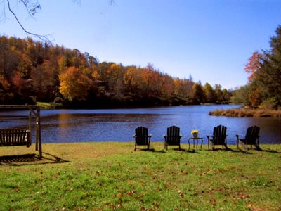 Photo for Beautiful Lakefront Home in Highlands. Paradise!