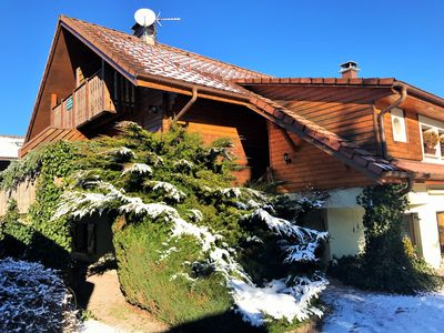Photo for Margolou's 3 * apartment in her chalet in Gérardmer