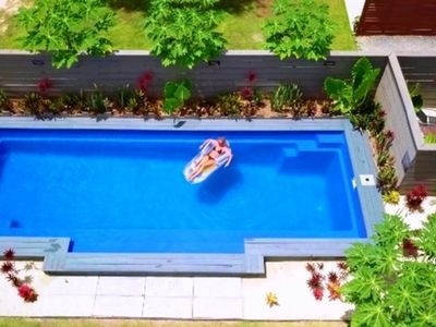 Photo for Muri Beachside Villa with Pool so popular & great value!