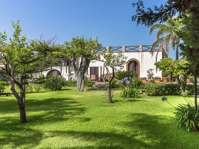 Photo for Home Archirafi, a garden few steps from the sea