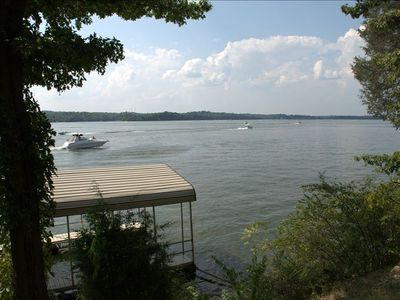 Photo for Nashville Lake Chalet, Waterfront with Unmatched Sunset View! Sleeps 6-7