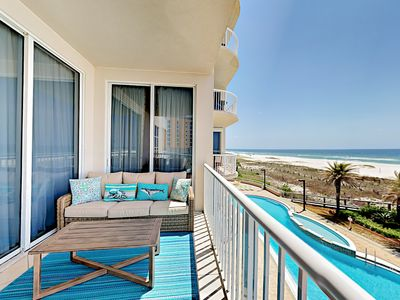 Photo for Endless Gulf Views at Spanish Key – Chic 3BR Condo with Pool, Gym & Hot Tub
