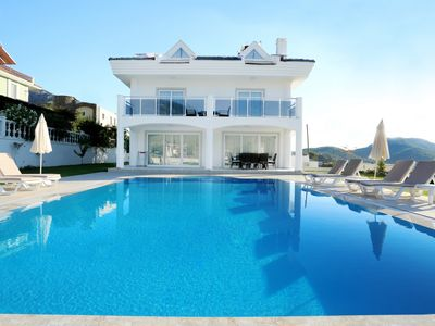 Photo for Beautiful 4 Bedroom Villa, With Private Pool and Garden and Mountain Views.