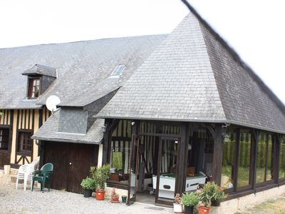Photo for house with garden 15 minutes from Cabourg, wifi, billiards