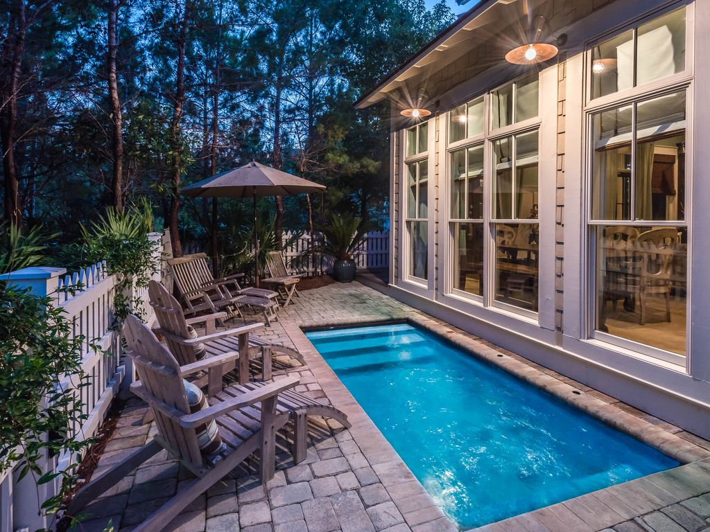 Executive access home private heated pool golf cart - Florida condo swimming pool rules ...