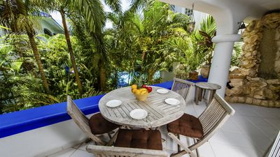 Photo for Deal of the Month! 3 Bedroom Condo Steps from the Beach....