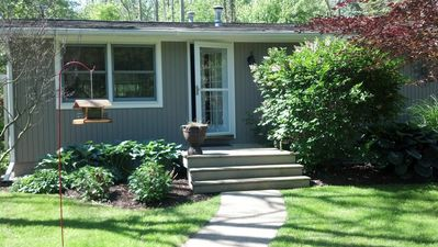 Photo for Walk To Beach - Cozy Douglas Cottage - Close To Downtown Saugatuck