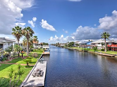 Photo for Canalfront Bayou Vista Home w/Pool Access & Deck!