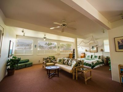 Photo for Beautiful Romantic Hanalei Vacation Rental Steps to Hanalei Bay & Beach