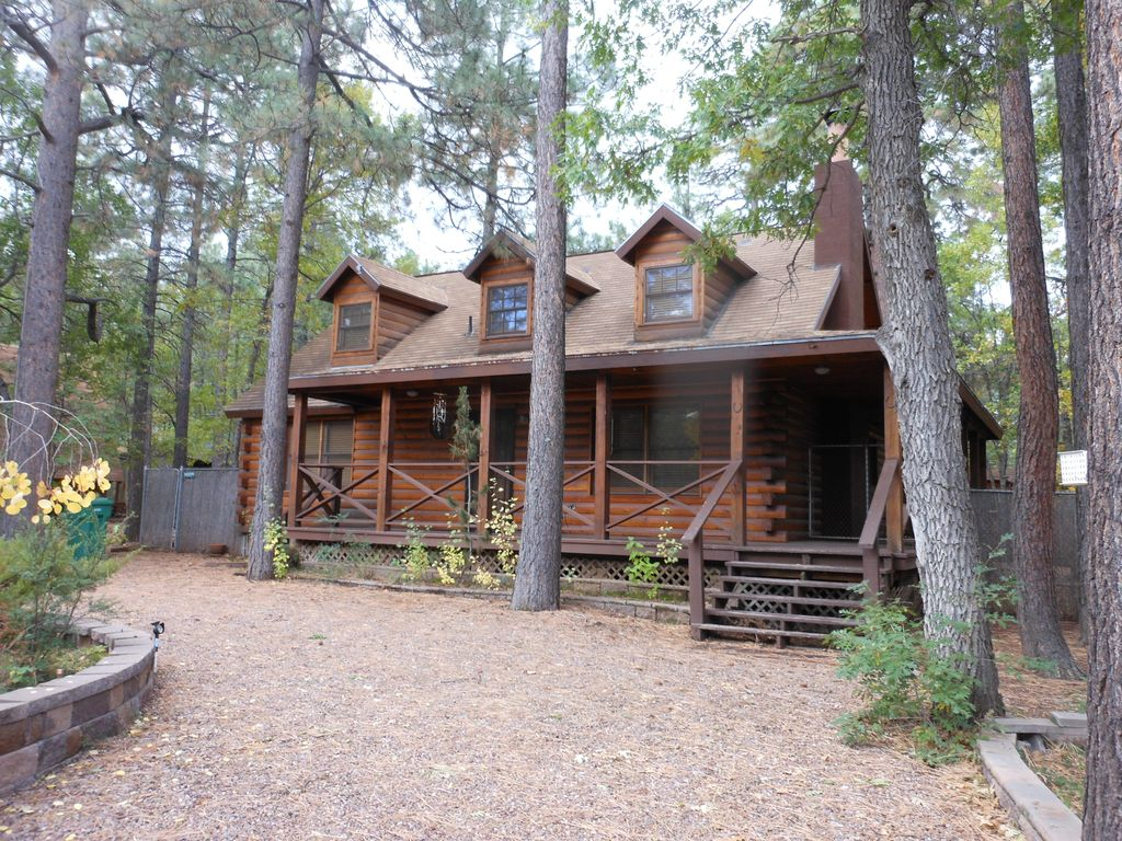 rentals white pinetop cabins rental pines lakeside starbright mountain cabin arizona
