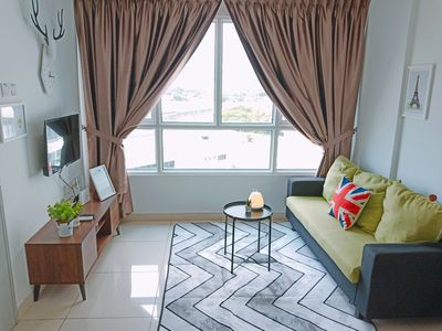 Photo for ★Queensbay Mall★ 2~5 Pax, 2 Bedrooms, 1 Bathroom, 1 Car Park
