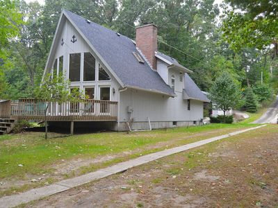 Photo for Home On White Lake With Private Frontage Sleeps 10 Modern Kitchen Lake Mi Close