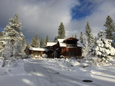 Enjoy the wonder of Winter in the Mountains in our private retreat