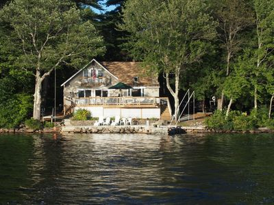 Photo for Waterfront On Beautiful Newfound Lake - 3 BR/Sleeps 8