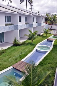 Photo for 4 Bedroom Luxury Flat in Condo Mar Azul, Porto de Galinhas at 12x without interest