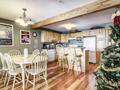 Photo for Highlander D Sleeps 9 Ski in/Out 2 Bedroom - 2 Bath Chalet with 6 Person Private Hot Tub
