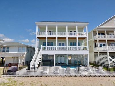 Photo for Atlantic Whale - Luxury Oceanfront Beach House with a Pool