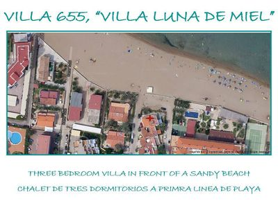 Photo for Villa directly on the sandy beach in the beautiful coastal town of Denia.