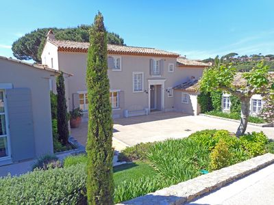Photo for BEAUTIFUL PROPERTY NEAR THE BEACHES AND CENTRAL Saint-Tropez