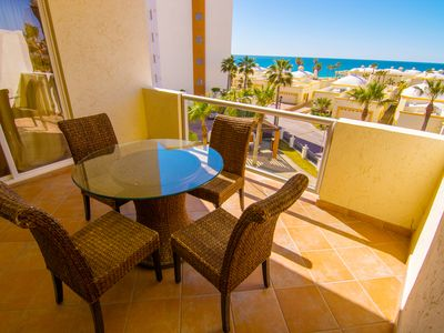 Photo for Beautiful 1 Bedroom Condo on the Sea of Cortez at Las Palmas Resort D-303B