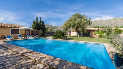 Photo for Casa Fiona - Traditional One Storey Villa with Private Pool, Mountain Views and close to Puerto de Pollensa ! - Free WiFi