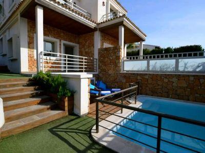 Photo for Spacious Holiday Home Bahamas 1 with Wi-Fi, Pool, Balcony, Terraces & Garden; Parking available