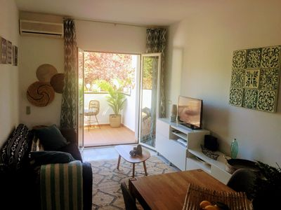 Photo for Comfortable apartment for 2 or 3 people at the Lauro Golf resort