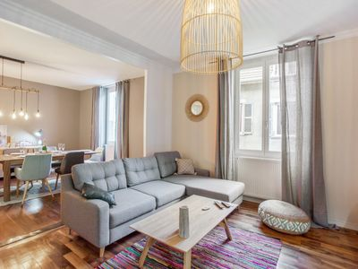 Photo for Charming large flat at the heart of Grenoble old city - Welkeys