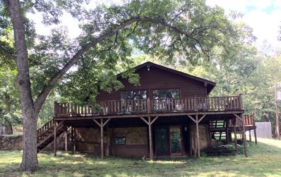 Photo for Canyon Hill Cabin- set in the hollers of Dougherty between Sulphur & Davis, OK.