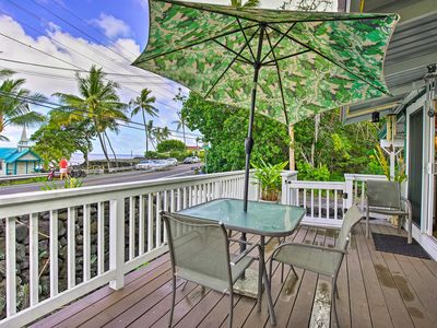 Photo for NEW! Kailua-Kona House w/ Oceanfront Deck & View
