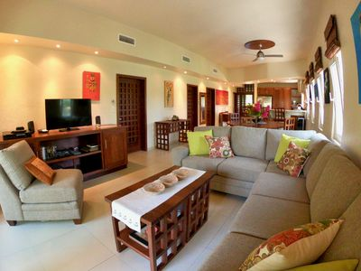 Photo for NEW RATES !  Egret House 2nd floor 1800 Sq.ft LUXURIOUS CONDO. SLEEPS 6