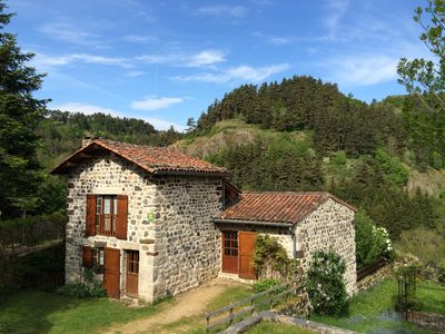 Photo for Country cottage 3 ears 'Les Sources' 9 pers (sleeps 12) in Arlempdes (43490)