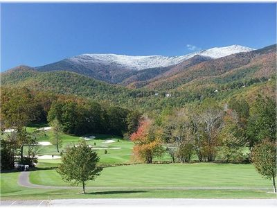 Mount Mitchell Golf Course -Across the street from house