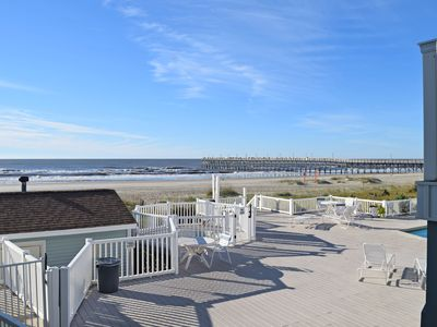 Photo for Shells In Your Pocket - Oceanfront Condo - Deck, Pool, Hot Tub