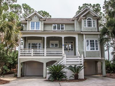 Photo for 119 Ocean Creek is a lovely two story home located in the heart of Fripp Island.  Please ask us about Golf Packages for Monthly Rentals!!!!
