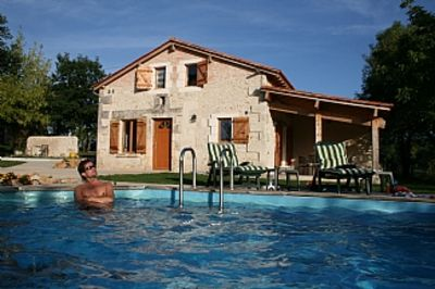 Photo for Le Regnac, Vanxains,  Renovated Farmhouse with great views of open countryside.