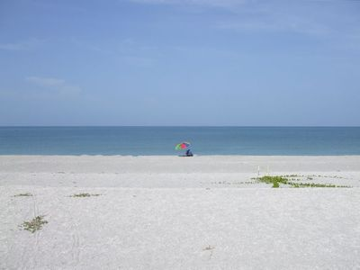 Private beach on Gulf of Mexico