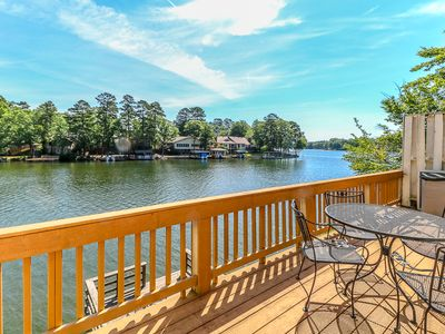 Photo for 2 BEDROOM/2 BATH LAKEFRONT TOWNHOME LOCATED ON LAKE DESOTO - $120 PER NIGHT - NON SMOKING