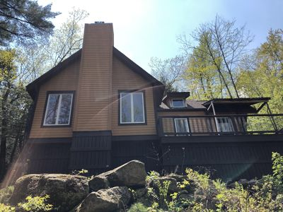 Photo for Perfect Summer/Fall  Mountain Retreat By Lake George near beach & boat launch