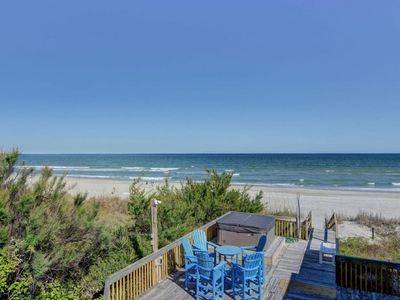 Photo for Awesome 7 BR Oceanfront House with Sound and Ocean Views - No Hurricane Damage