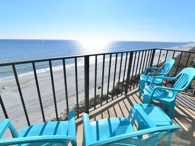 Photo for OCEANFRONT SUITE & PRIVATE BALCONY + WOW Ocean Views!    Walk to EAT SHOP & PLAY