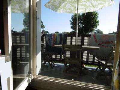 Photo for 1BR Apartment Vacation Rental in Franceville-Plage, Normandie